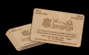 Laser Cut Visiting card