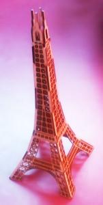 Laser Cut MDF Eiffel-Tower