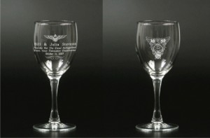 Laser Etching on Glass