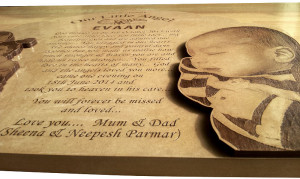 Wooden Grave Markers