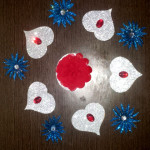Diwali Rangoli - Simple and Elegant Readymade colorfull Rangoli …