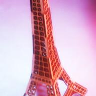 Laser Cut MDF Eiffel Tower