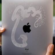 Laser Engraving/ Etching on iPad