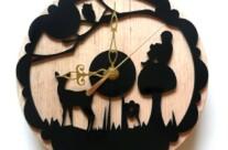 Laser Cut Acrylic Clock